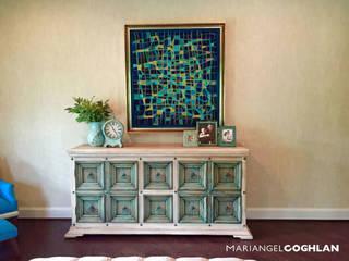 Mobiliario: Recámaras de estilo  por MARIANGEL COGHLAN