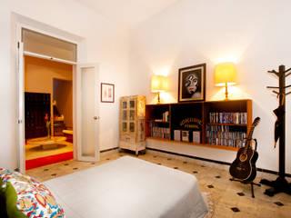 Casa Santiago 49 Dormitorios modernos de Taller Estilo Arquitectura Moderno