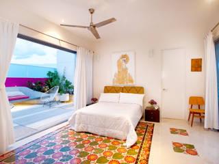 Dormitorios de estilo moderno de Taller Estilo Arquitectura Moderno