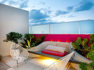 Giardino moderno di Taller Estilo Arquitectura Moderno