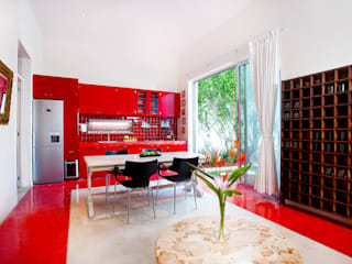 Casa Santiago 49: Comedores de estilo  por Taller Estilo Arquitectura
