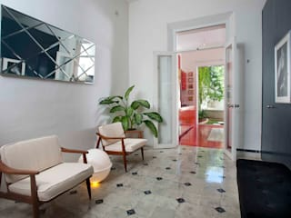 Pasillos, vestíbulos y escaleras de estilo moderno de Taller Estilo Arquitectura Moderno