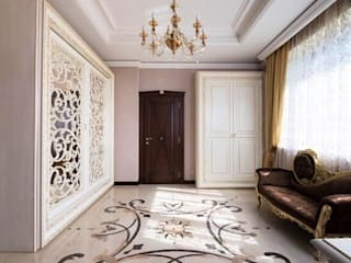 Classic style corridor, hallway and stairs by udesign Classic