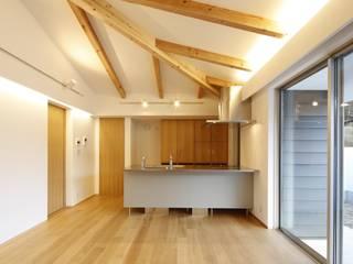 house-o モダンデザインの リビング の 株式会社山根一史建築設計事務所 モダン