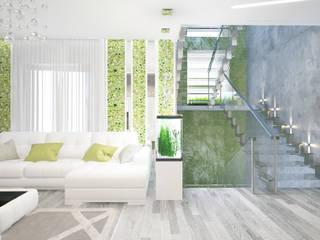 Гостиная Гостиная в тропическом стиле от mysoul Тропический