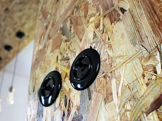 Industrial style kitchen by kreARTywni_ studio projektowe Industrial