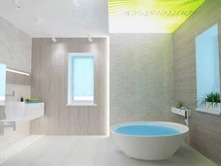 mysoul Tropical style bathroom