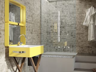 Salle de bain moderne par olympiaceramica srl unipersonale Moderne