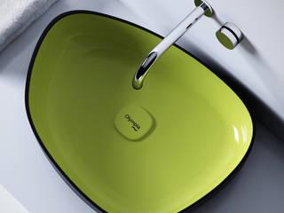 Il bagno di Olympia  ceramica ,Metamorfosi, design Gianluca Paludi: Bagno in stile in stile Minimalista di olympiaceramica srl unipersonale