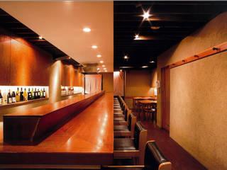 割烹 嶋川 オリジナルなレストラン の 堀内総合計画事務所 オリジナル