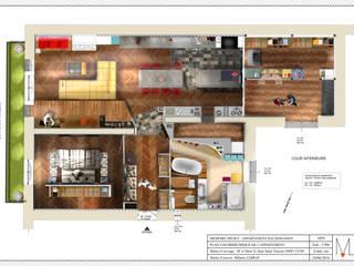 Plan colorimétrique:  de style  par POSITIV'AGENCEMENT
