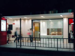 cafe Saikai オリジナルなレストラン の 堀内総合計画事務所 オリジナル