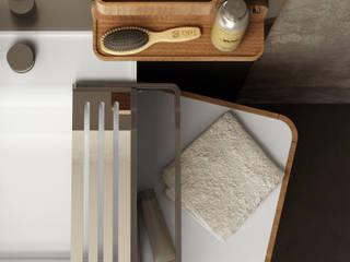 Il bagno di Olympia  ceramica , Beauty design Gianluca Paludi: Bagno in stile  di olympiaceramica srl unipersonale
