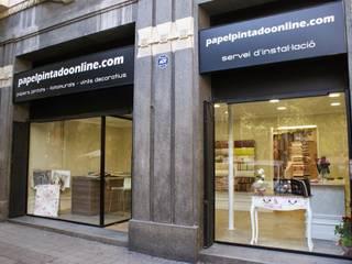 Papel Pintado Online Tienda Barcelona: Oficinas y Tiendas de estilo  de Papel Pintado Online