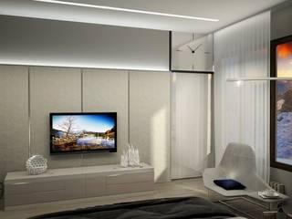 Bedroom by Дизайн - студия Пейковых, Minimalist