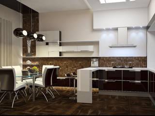 Kitchen by Дизайн - студия Пейковых, Eclectic
