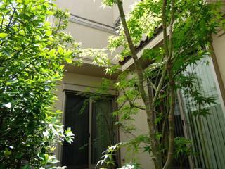 Eclectic style garden by Gokansha/ゴカンシャ Eclectic