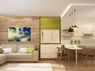 Minimalist living room by mysoul Minimalist