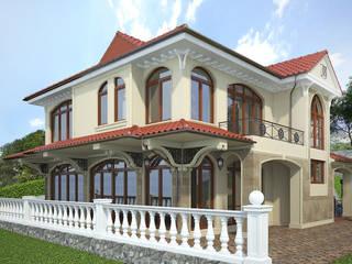Houses by Дизайн - студия Пейковых, Mediterranean
