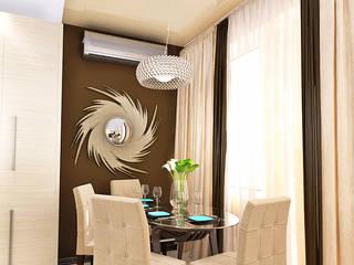 Кухня-гостиная Столовая комната в классическом стиле от mysoul Классический