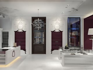 Offices & stores by Дизайн - студия Пейковых, Eclectic