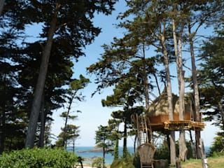 Uniek overnachten in een boomhut:  Hotels door TreeGo Boomhut Bouwers