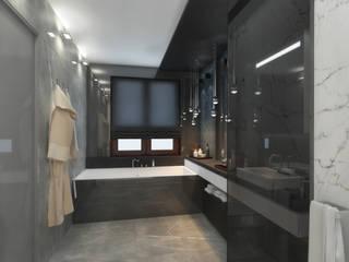Bathroom by Дизайн - студия Пейковых, Minimalist