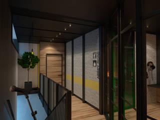Study/office by Дизайн - студия Пейковых, Industrial