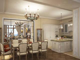 Living room by Дизайн - студия Пейковых, Classic