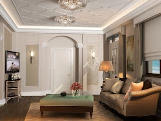 Corridor & hallway by Дизайн - студия Пейковых, Eclectic
