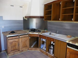 Relooking meubles de cuisine:  de style  par Passion Déco