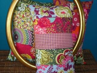 Des coussins patchwork ... autrement:  de style  par La Compagnie du Patchwork