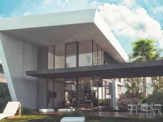 Mİ'KORA BOYALIK VİLLALARI Modern Balkon, Veranda & Teras S.U.V. YAPI TURİZM SANAYİ ve TİCARET ANONİM ŞİRKETİ Modern