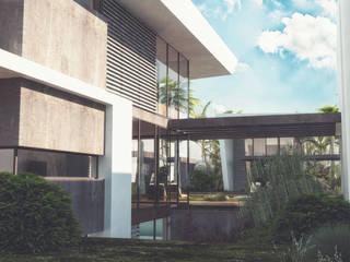 Mİ'KORA BOYALIK VİLLALARI Modern Bahçe S.U.V. YAPI TURİZM SANAYİ ve TİCARET ANONİM ŞİRKETİ Modern