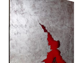 "FULL METAL PAINTING ""Last One"" par DIAN'ARTE MUSEUM Moderne"