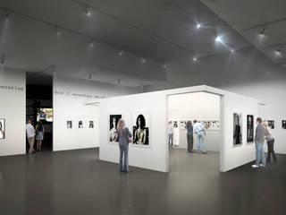 Exhibition de Sebastien Rigaill 3D Visualiser Moderno