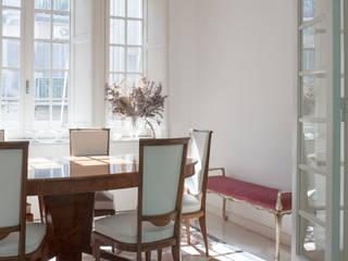 CASA C+D 3C+M architettura Sala da pranzo minimalista