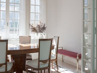 3C+M architettura Minimalist dining room