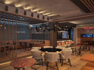 Ресторан в Омеге, Севастополь от Дизайн - студия Пейковых Лофт