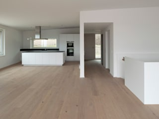 Wohnüberbauung Rietacher, Küsnacht, Schweiz Moderne Wohnzimmer von mpp architekten ag Modern