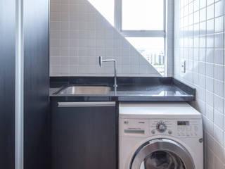 Apartamento 303: Cozinhas  por Estúdio Barino | Interiores,Moderno