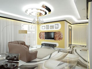 Дизайн студия Александра Скирды ВЕРСАЛЬПРОЕКТ Living room