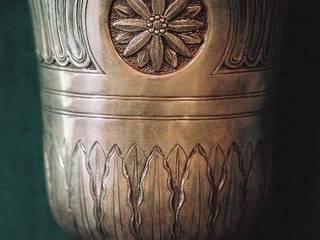 Timbale d'orfèvrerie de style LXVI réf. 0021:  de style  par Pierre BIAU Bronzier d'Art