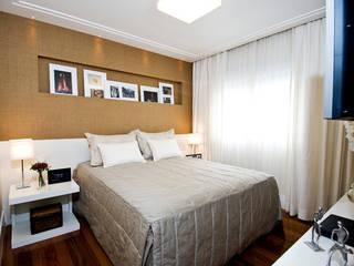 Cavalcante Ferraz Arquitetura / Design Kamar Tidur Modern
