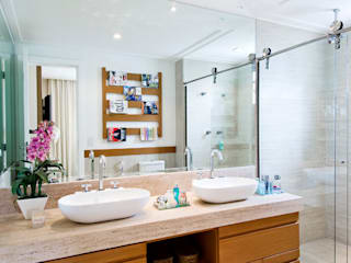 Cavalcante Ferraz Arquitetura / Design 現代浴室設計點子、靈感&圖片