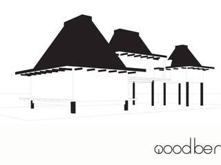 de estilo tropical de Bos in 't Veld Architecten, Tropical