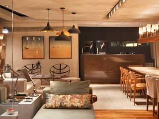 Estúdio Barino | Interiores의  레스토랑,