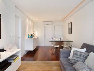 Apartamento 08: Salas de jantar  por Estúdio Barino   Interiores,Moderno