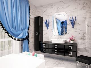Eclectic style bathroom by LD design Eclectic