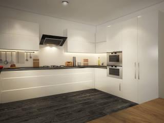 D&S Altaş Home Modern Mutfak yücel partners Modern